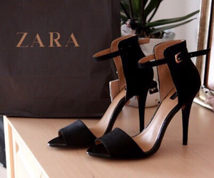 Zara, shoes, and fashion image