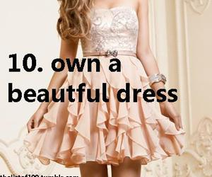 beautiful, dress, and want image
