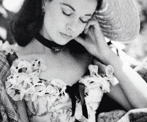 vintage, Gone with the Wind, and vivien leigh image