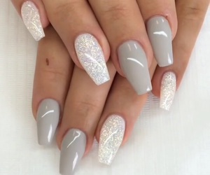 love, 💘, and nails image
