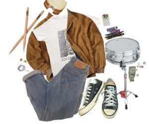 fall, Polyvore, and grunge image