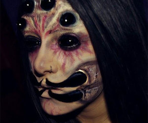 halloween make up, halloween makeup ideas, and halloween make up looks image