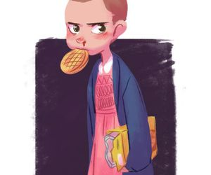 eleven, series, and waffles image