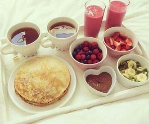 chocolat, crepes, and lovely image