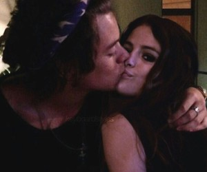 Harry Styles, selena gomez, and harlena image