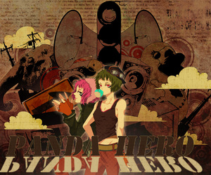anime, grunge, and panda hero image