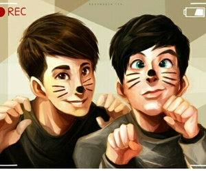 dan and phil, phil lester, and amazingphil image