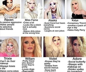 funny, violet chachki, and meme image