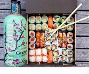 sushi, arizona, and food image