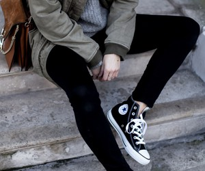 converse, fashion, and style image