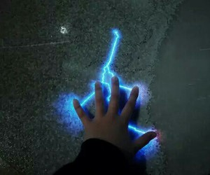 blue, power, and magic image