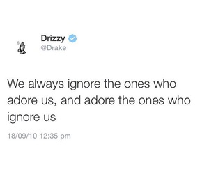 quote, adore, and Drake image