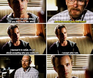 breaking bad, jesse, and Walter image