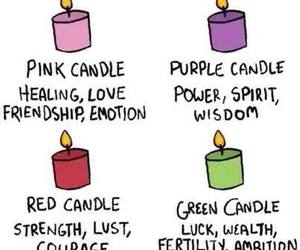 wicca and candle image