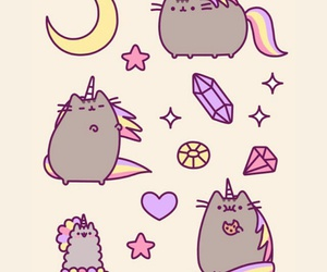 cat, wallpaper, and pusheen image