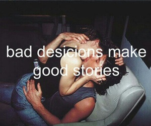 bad, kiss, and story image