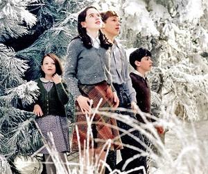 narnia, movie, and snow image