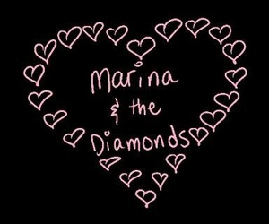 marina and the diamonds and pink image
