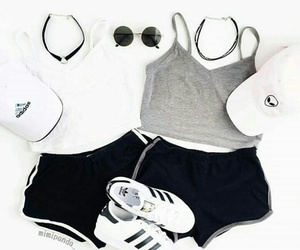 fashion, clothes, and adidas image