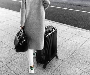 fashion, travel, and white image