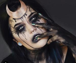 Halloween, makeup, and enchantress image