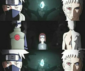 kakashi, naruto, and rin image