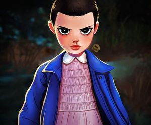 stranger things, eleven, and 11 image