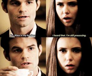 elena, the vampire diaries, and elijah image