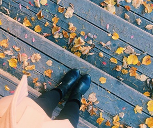 amazing, autumn, and boots image