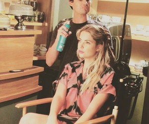 caleb, hanna, and ashley benson image