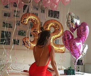 girl, birthday, and 32 image
