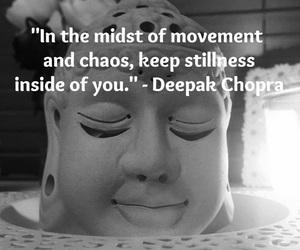 Buddha, chaos, and follow image