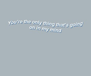 blue, grey, and Lyrics image