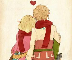 couple, link, and zelink image