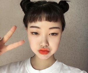 girl, ulzzang, and fashion image