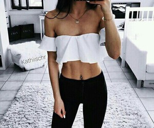 abs, beauty, and white image