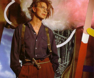 david bowie, fashion, and Hot image