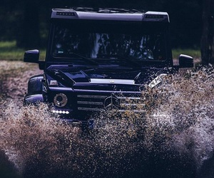 Action, mercedes benz, and g-class image