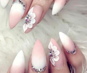 beautiful, makeup, and nail art image