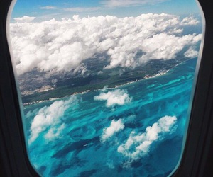 travel, clouds, and sky image