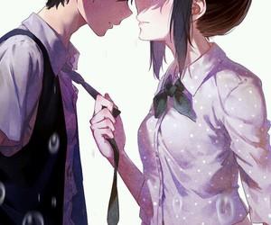 anime, japan, and couple image