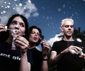 Placebo, Brian Molko, and bubbles image