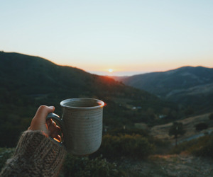 coffee, nature, and travel image