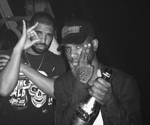 Drake, bryson tiller, and drizzy image
