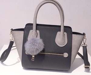 bag, elegant, and handbag image