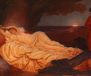art, painting, and frederic leighton image