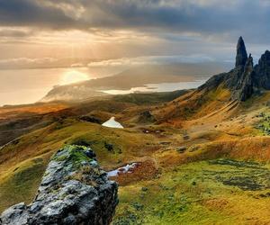 scotland, landscape, and nature image