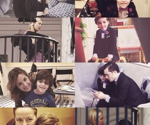 cast, family, and gossip girl image