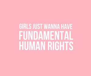 feminism, girls, and quote image
