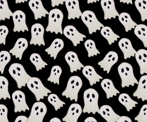 Halloween, black, and ghost image